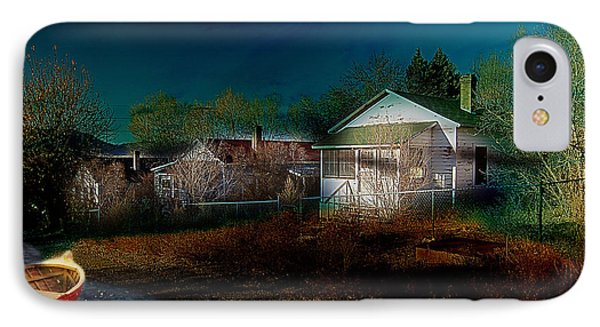 My Dream House IPhone Case by Gunter Nezhoda