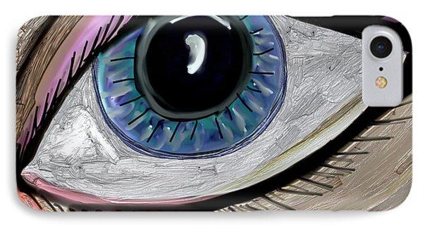 My Eye IPhone Case by Kim Peto