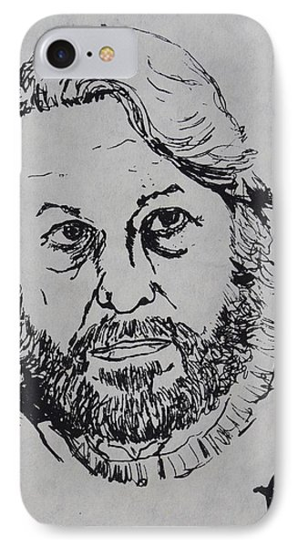 My Father 1973 IPhone Case by Erika Chamberlin