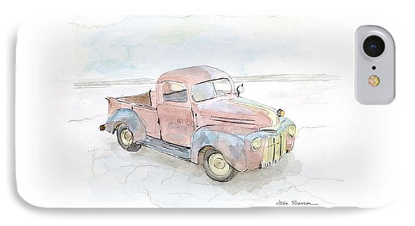 My Favorite Truck IPhone Case by Joan Sharron