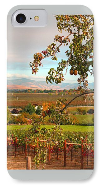 My Favorite Valley View - Autumn In Southern Oregon IPhone Case by Brooks Garten Hauschild