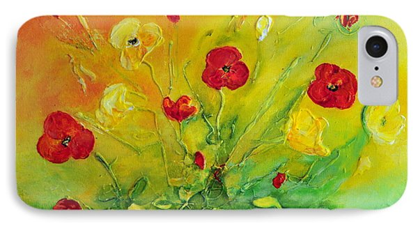 IPhone Case featuring the painting My Favourite by Teresa Wegrzyn