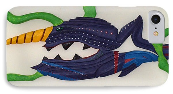 My First Fish Dinner Phone Case by Robert Margetts
