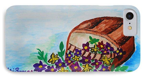 My Flower Basket IPhone Case by Ramona Matei
