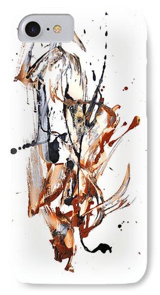 My Form Of Jazz Series - 10188.110709 IPhone Case by Kris Haas