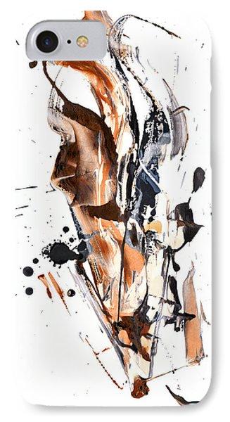 My Form Of Jazz Series - 10189.110709 IPhone Case by Kris Haas
