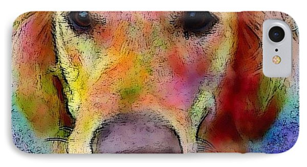 My Friends Dog #portrait #dogportrait IPhone Case