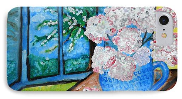 My Grandma S Flowers   IPhone Case by Ramona Matei