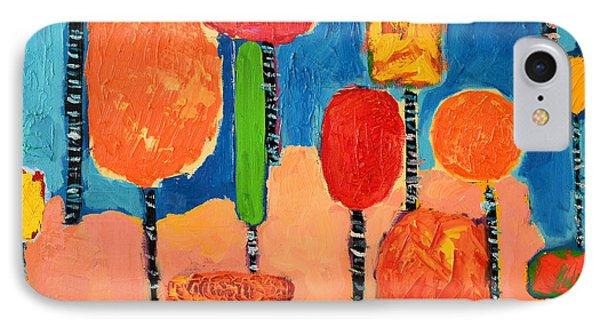 My Happy Trees 2 Phone Case by Ana Maria Edulescu