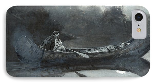 My Hatred Of Him Seemed Suddenly To Have Taken To Itself Wings IPhone Case by Howard Pyle