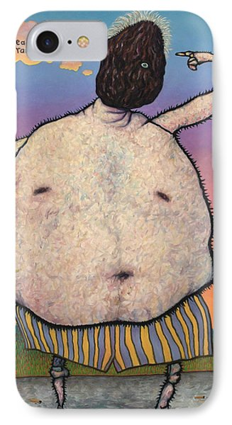 My Head Is A Raisin. IPhone Case by James W Johnson