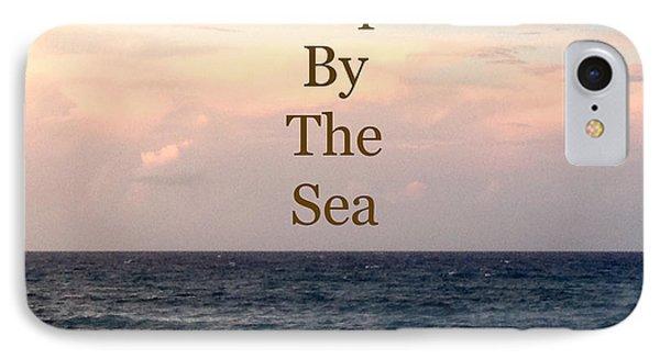 My Heart Sleeps By The Sea Phone Case by Maya Nagel
