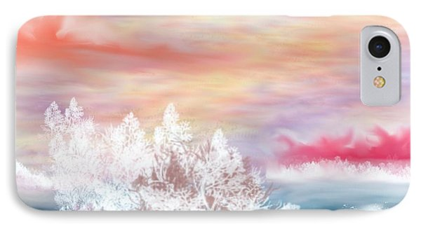 IPhone Case featuring the painting My Heaven by Lori  Lovetere