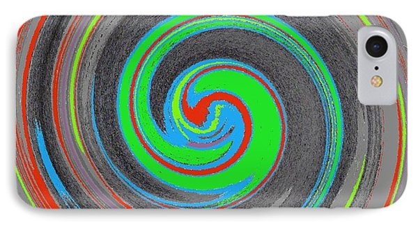 IPhone Case featuring the digital art My Hurricane by Catherine Lott