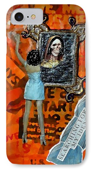 IPhone Case featuring the painting My Identity by Lisa Piper