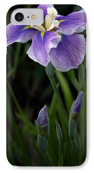 My Iris IPhone Case by Penny Lisowski