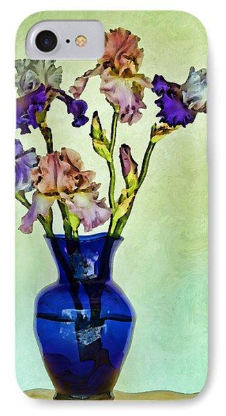 My Iris Vincent's Genius IPhone Case by Nikolyn McDonald