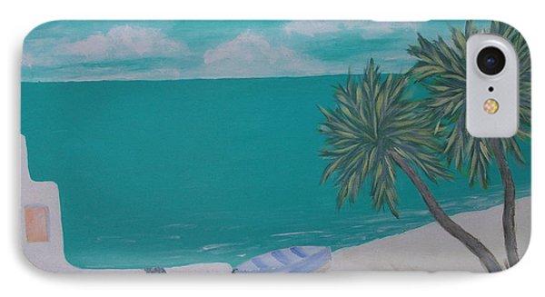 My Island Phone Case by Inge Lewis
