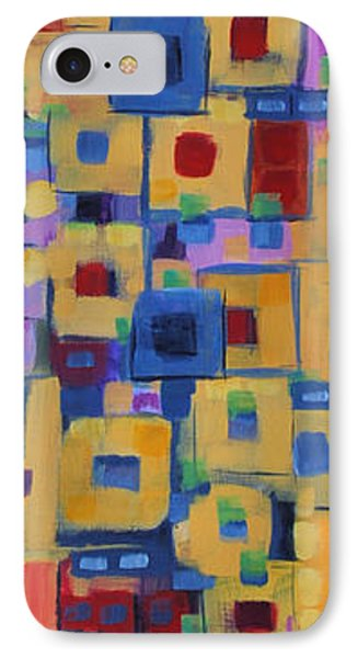 IPhone Case featuring the painting My Jazz N Blues 1 by Holly Carmichael