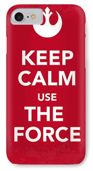 My Keep Calm Star Wars - Rebel Alliance-poster IPhone Case by Chungkong Art