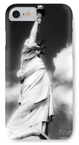 IPhone Case featuring the photograph My Lady Liberty by Janie Johnson