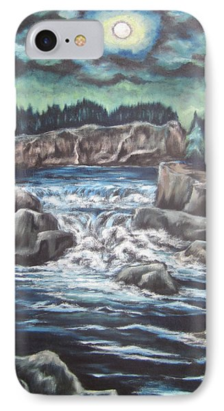IPhone Case featuring the painting My Land My Imagination 2 by Cheryl Pettigrew