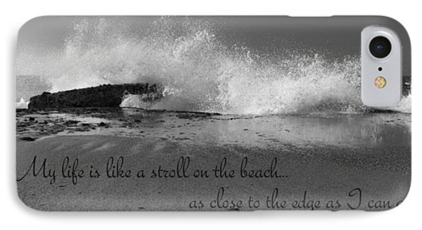 My Life In Black And White IPhone Case by Heidi Smith