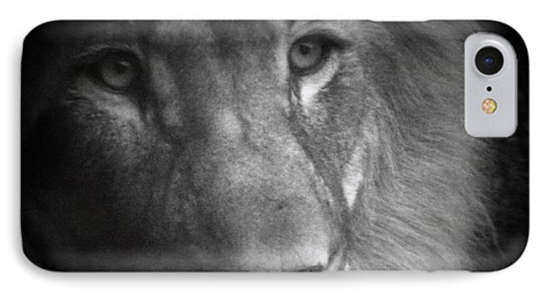 My Lion Eyes Phone Case by Thomas Woolworth