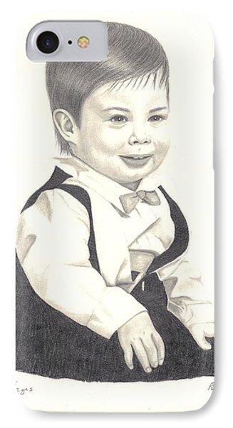 My Little Boy IPhone Case by Patricia Hiltz