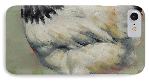 Light Sussex Hen IPhone Case by Margaret Stockdale