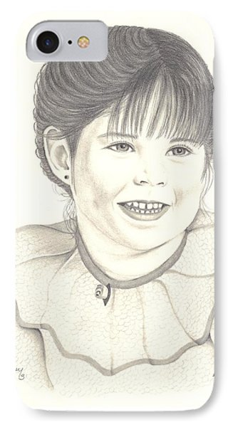 My Little Girl IPhone Case by Patricia Hiltz