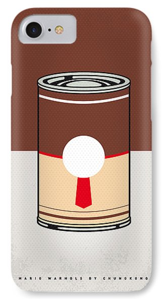 My Mario Warhols Minimal Can Poster-donkey Kong IPhone Case by Chungkong Art