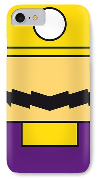 My Mariobros Fig 04 Minimal Poster IPhone Case by Chungkong Art