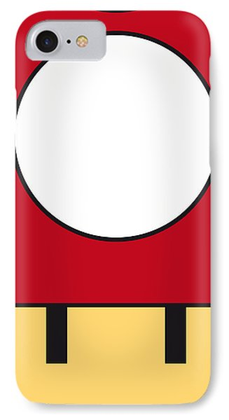 My Mariobros Fig 05a Minimal Poster Phone Case by Chungkong Art