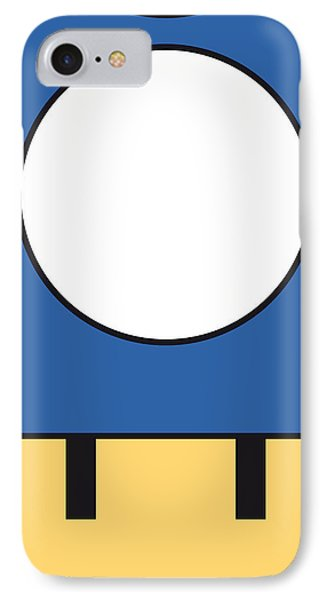 My Mariobros Fig 05d Minimal Poster IPhone Case by Chungkong Art