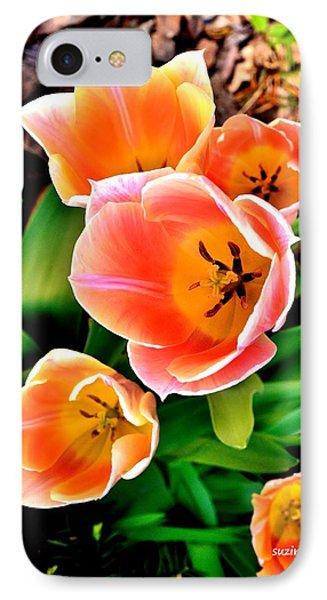 My Mom's Tulips IPhone Case