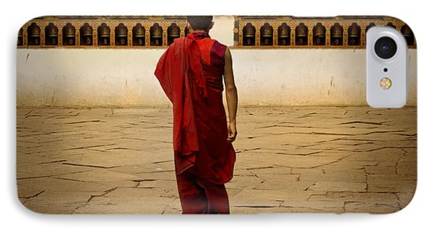 IPhone Case featuring the digital art My Monastery  by Angelika Drake