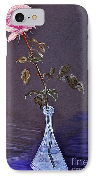 My Mothers Rose Phone Case by Nina Ficur Feenan