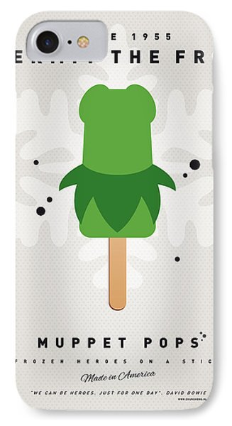 My Muppet Ice Pop - Kermit IPhone 7 Case by Chungkong Art