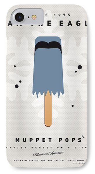 My Muppet Ice Pop - Sam The Eagle Phone Case by Chungkong Art
