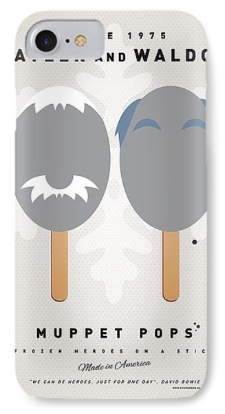 My Muppet Ice Pop - Statler And Waldorf Phone Case by Chungkong Art