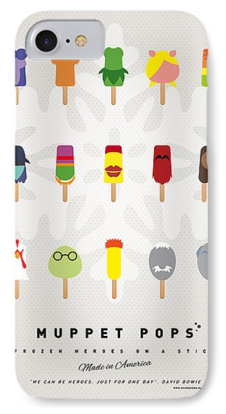 My Muppet Ice Pop - Univers Phone Case by Chungkong Art