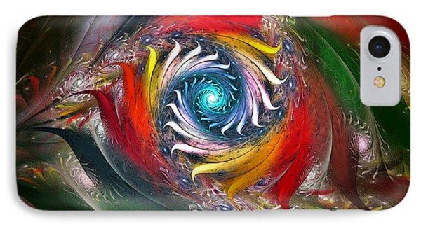 My My Beautiful Laundrette-fractal Art IPhone Case