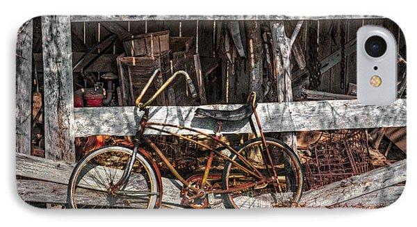 My Old Bike Phone Case by Debra and Dave Vanderlaan