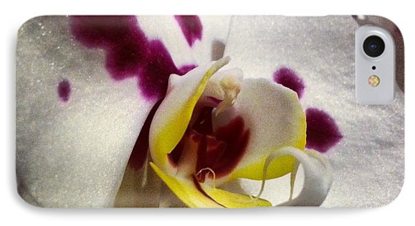 My Orchid Phone Case by Heather L Wright