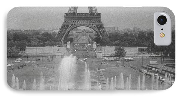 IPhone Case featuring the photograph my Paris by Steven Macanka