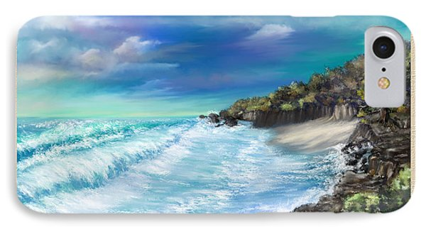 My Private Ocean IPhone Case by Susan Kinney