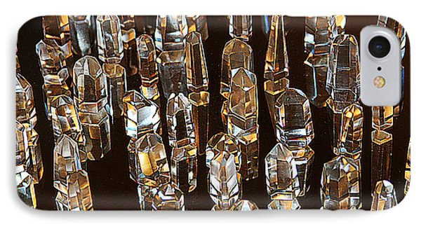 My Quartz Crystal Collection IPhone Case by Tom Janca