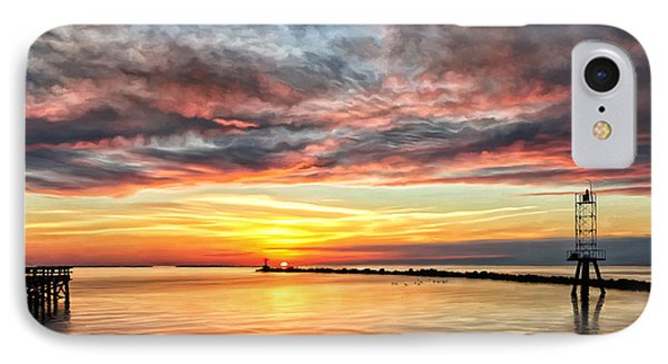 My Return To Cape Charles Virginia IPhone Case by Michael Pickett
