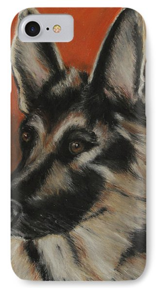 IPhone Case featuring the painting My Sadie by Jeanne Fischer